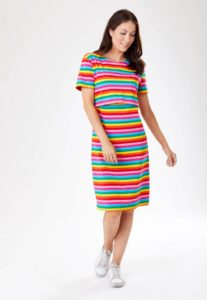 STRIPED DRESS_F