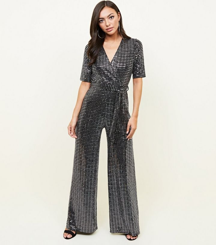 silver-mirrored-sequin-wrap-jumpsuit-