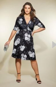 Yours london floral dress