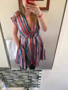 Closet London stripe dress member