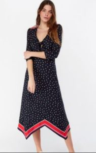 Monsoon dip hem dress