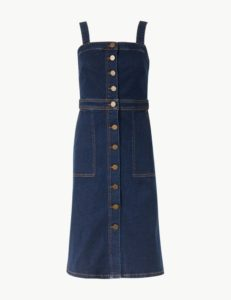 m&s denim dress