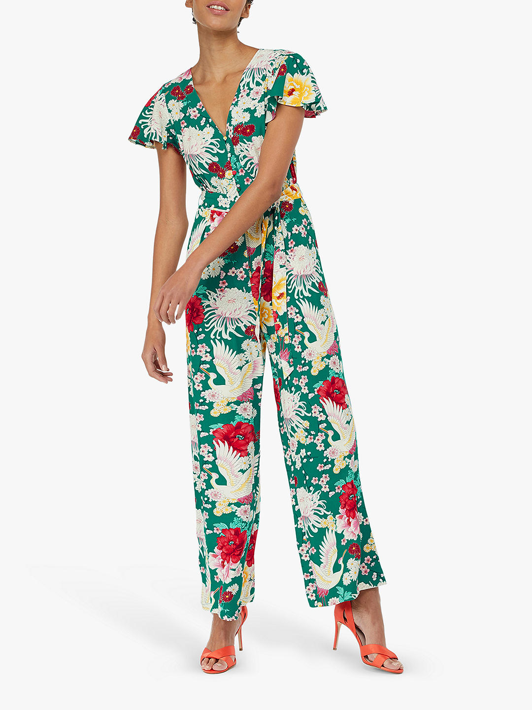 Monsoon Amber floral print jumpsuit