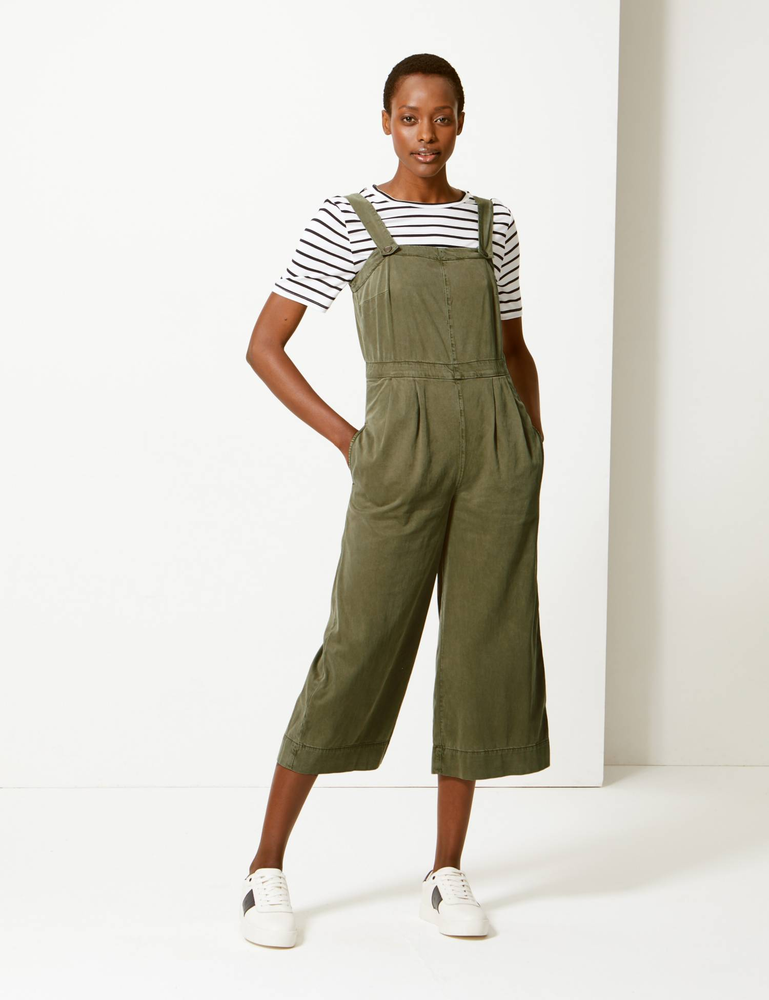 M&S cotton jumpsuit