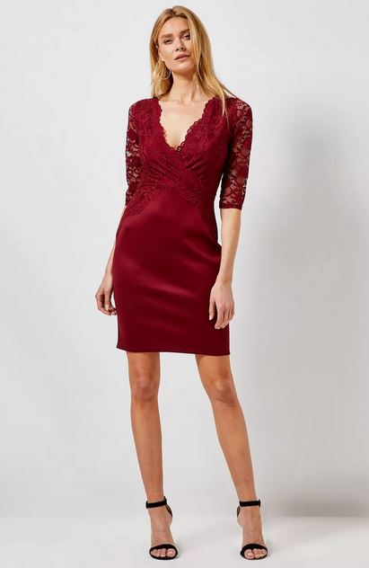 DP lace bodycon dress