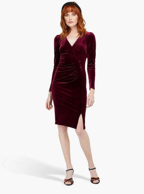 monsoon velvet dress