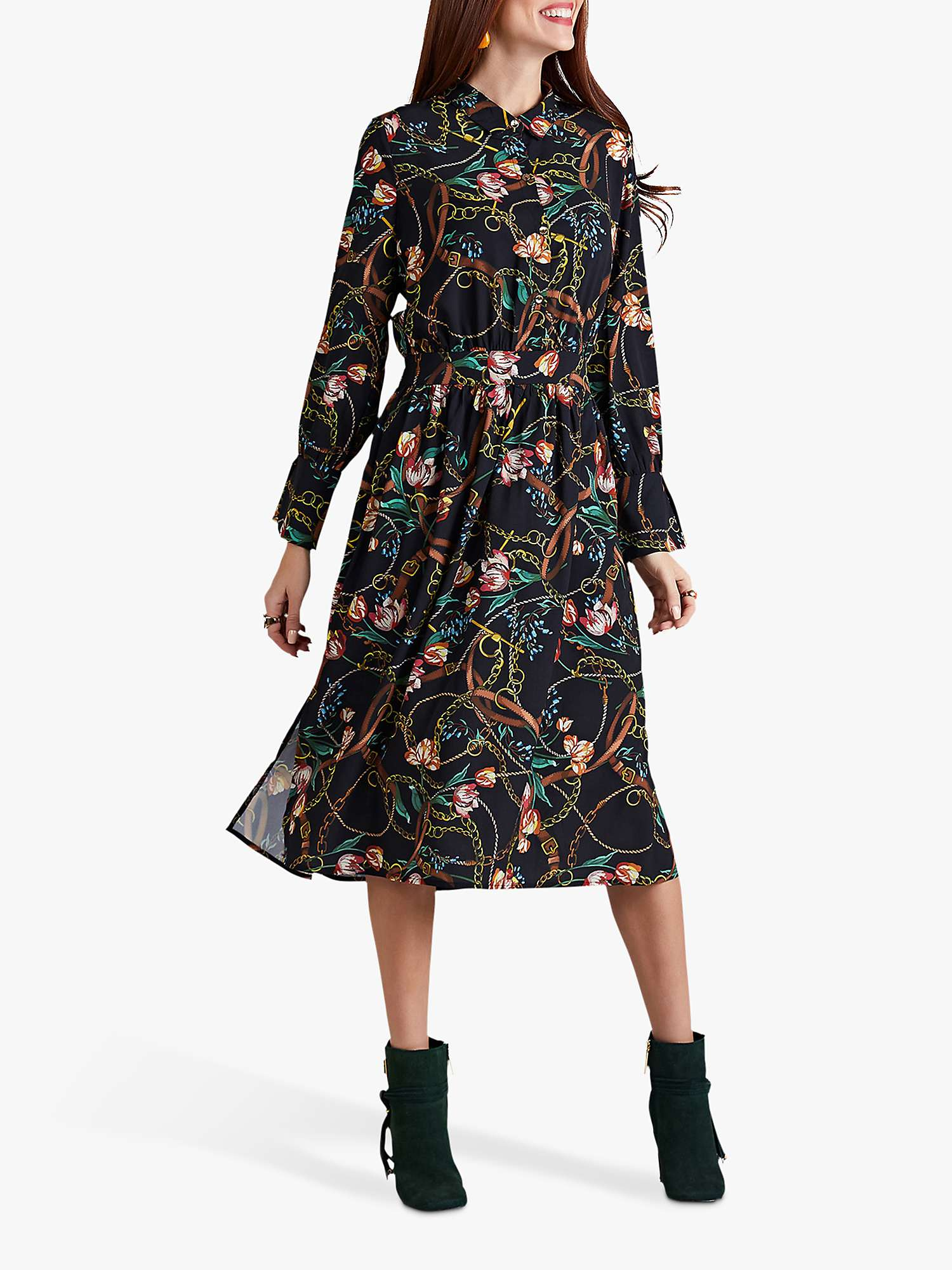 Yumi Tulip Shirt Dress