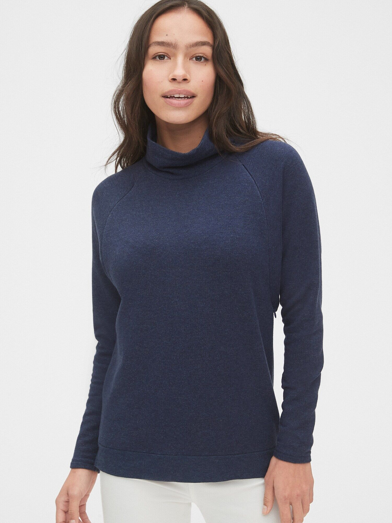 gap mock neck sweater
